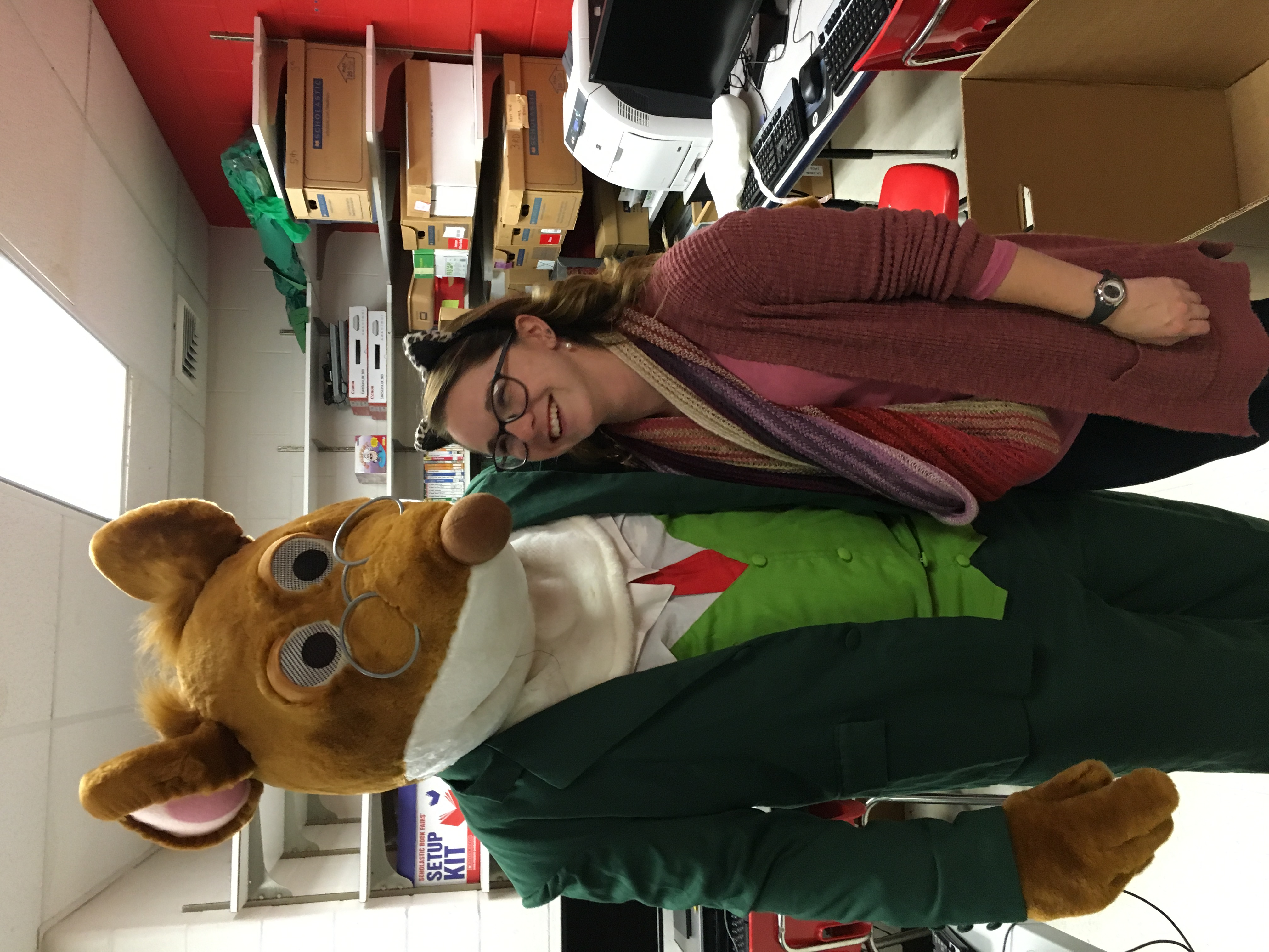 Geronimo Stilton at the SES BookFair