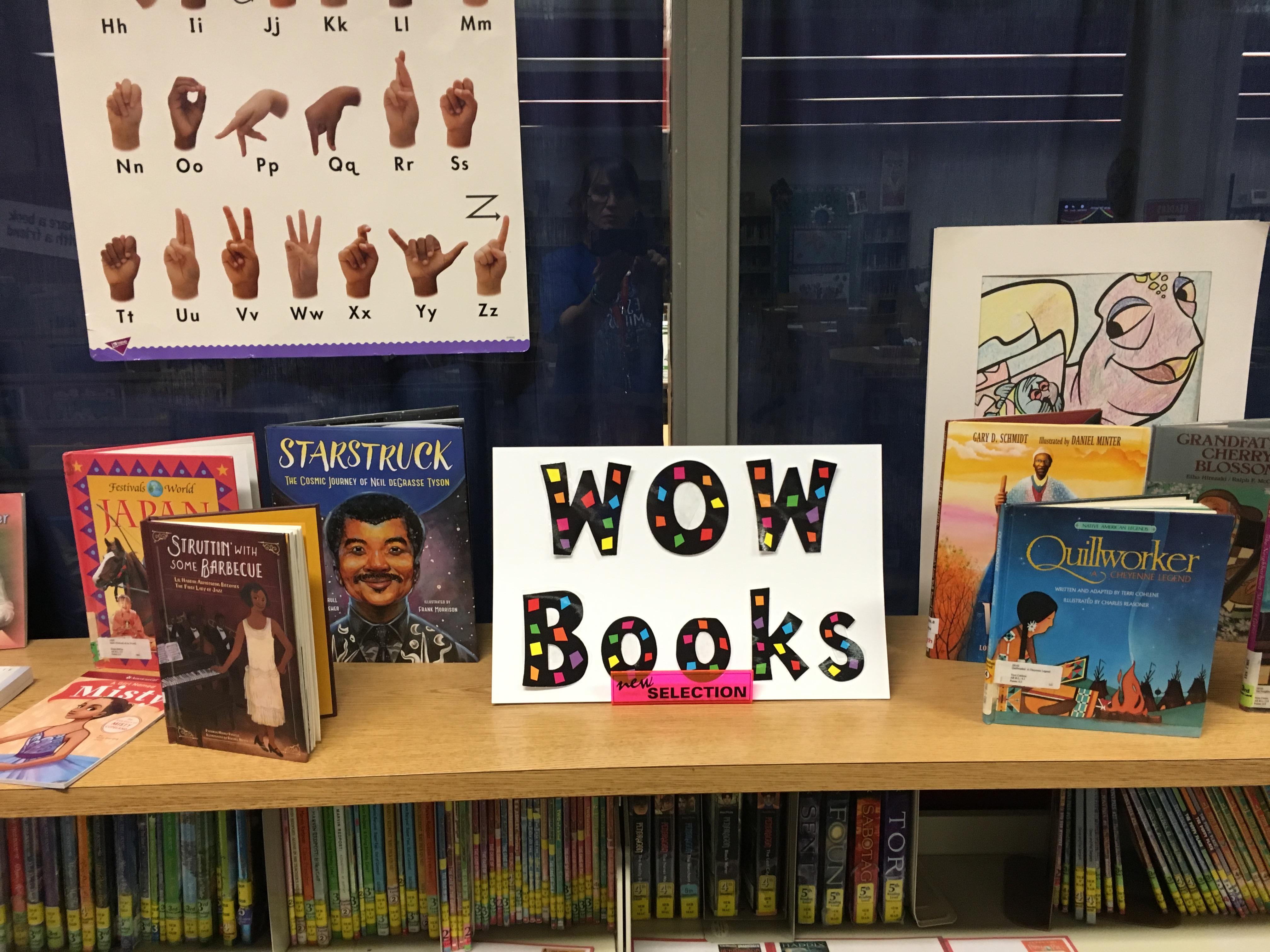 WOW Book Display