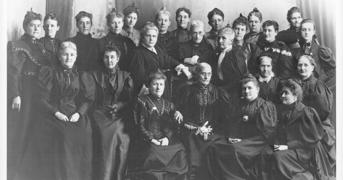 Suffragettes in Utah