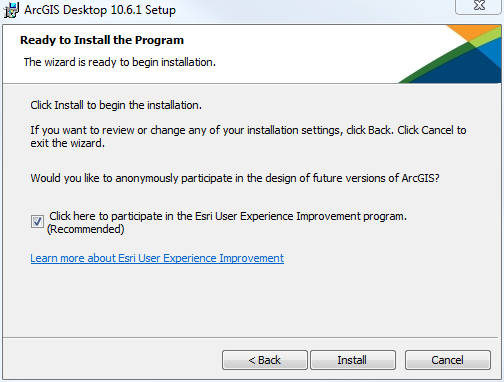 Confirm that you would like to install the program. Click the Install button.