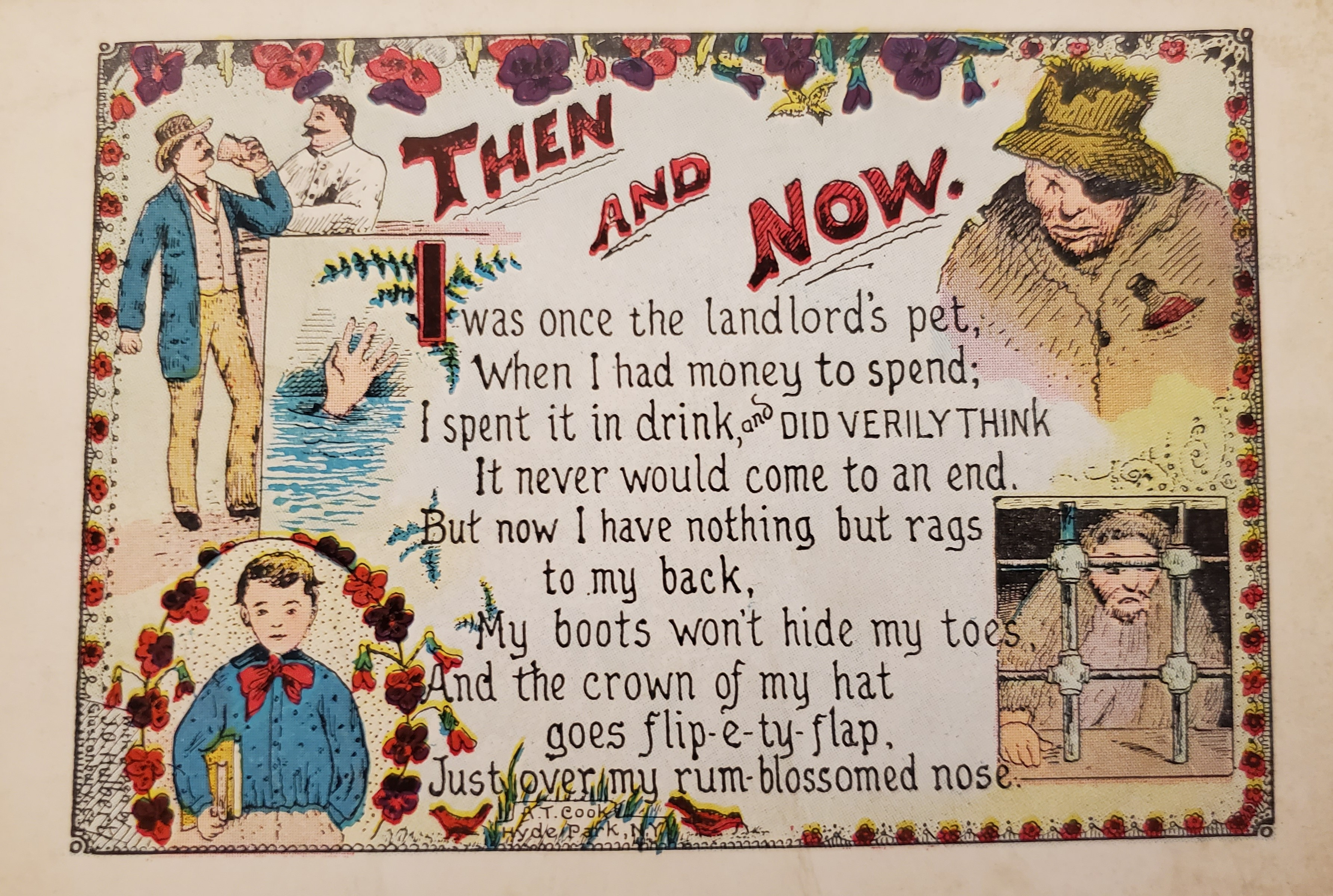 Image of Postcard from Temperance Postcard Collection