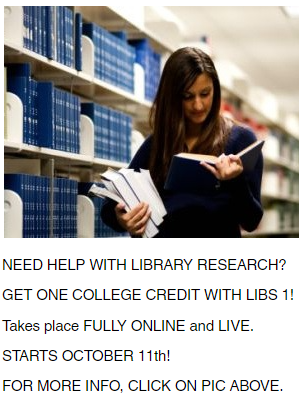 LIBS 1 Course Promotion