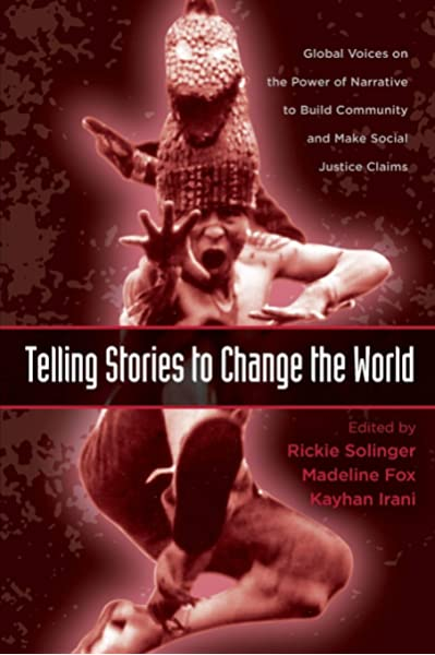 Image of Telling Stories Book to Change the World Book Cover