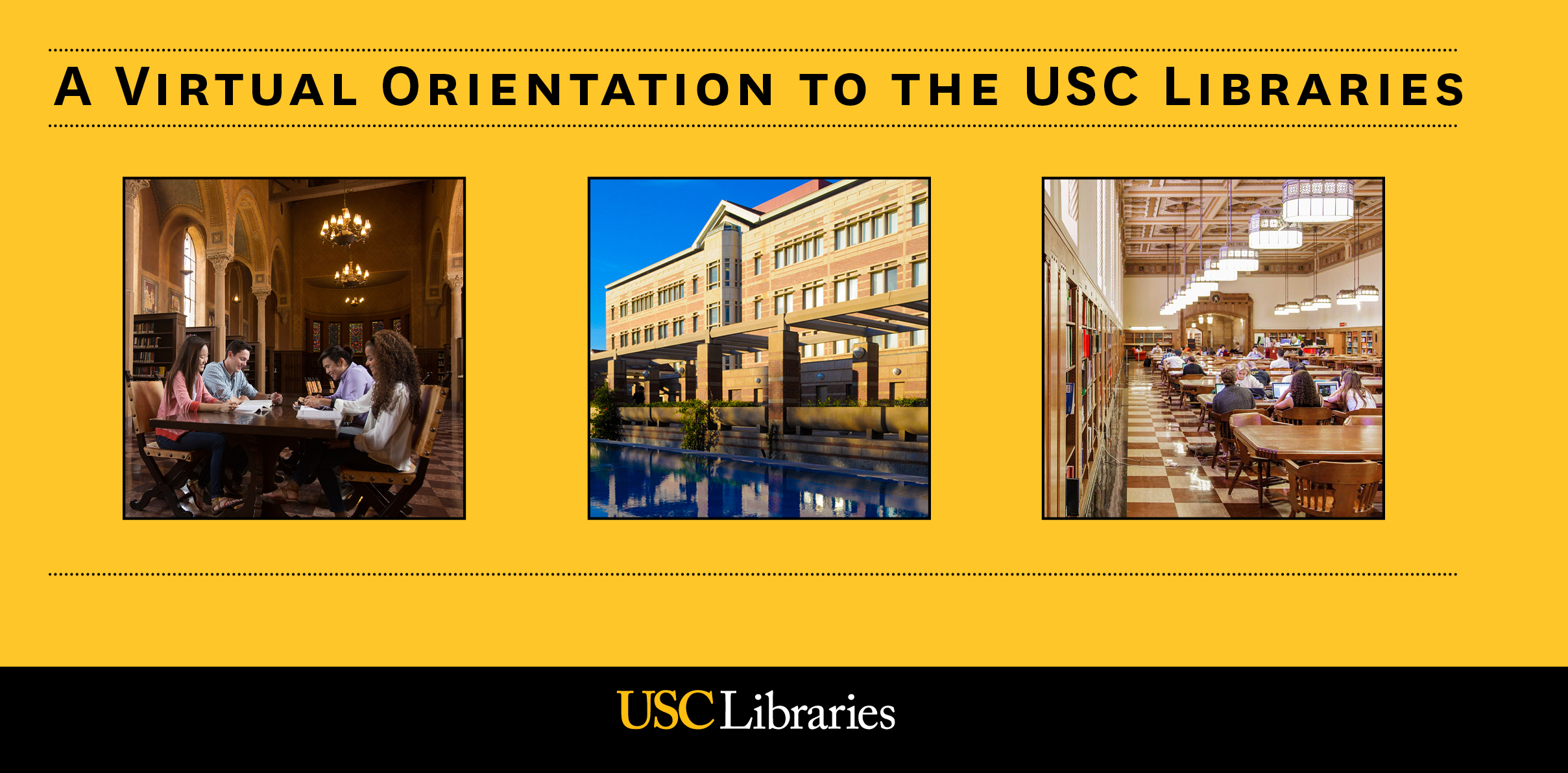 A Virtual Orientation to the USC Libraries Image