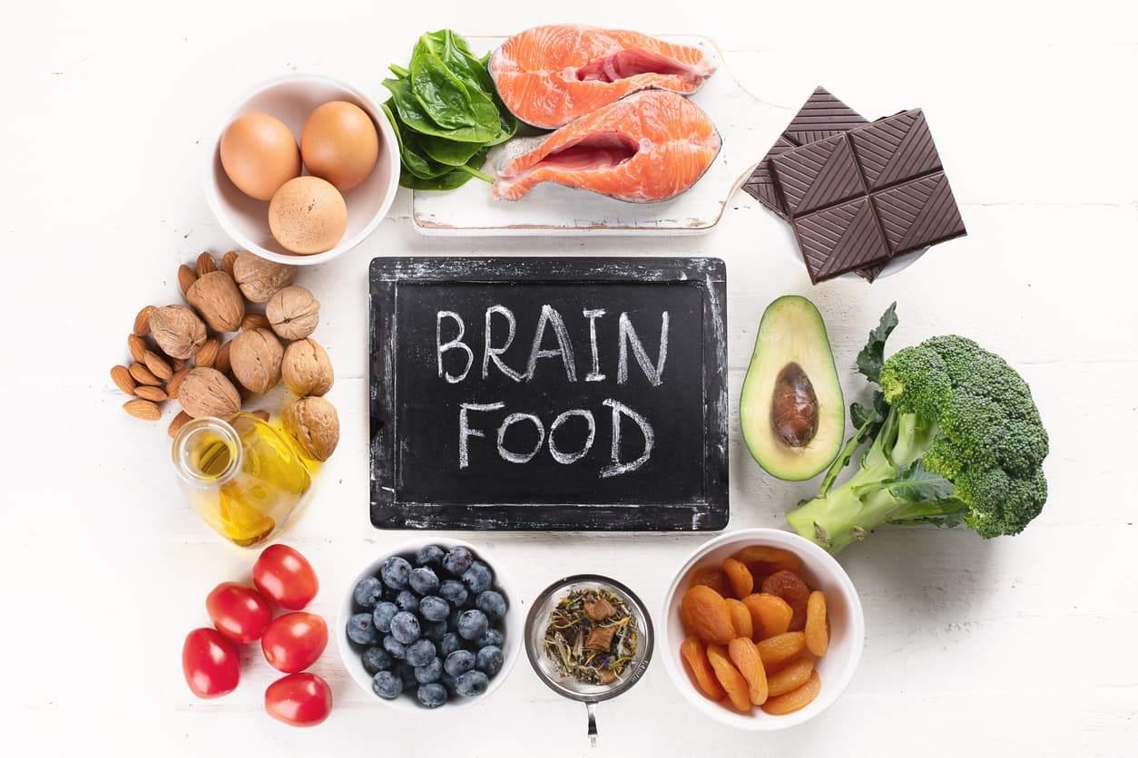 Image of food that stimulates brain activity.