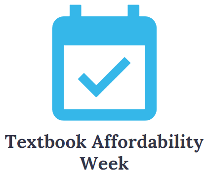 CALM Strategy:Textbook Affordability Week