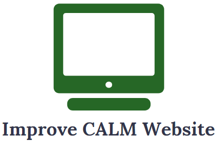 CALM Strategy: Improve CALM Website