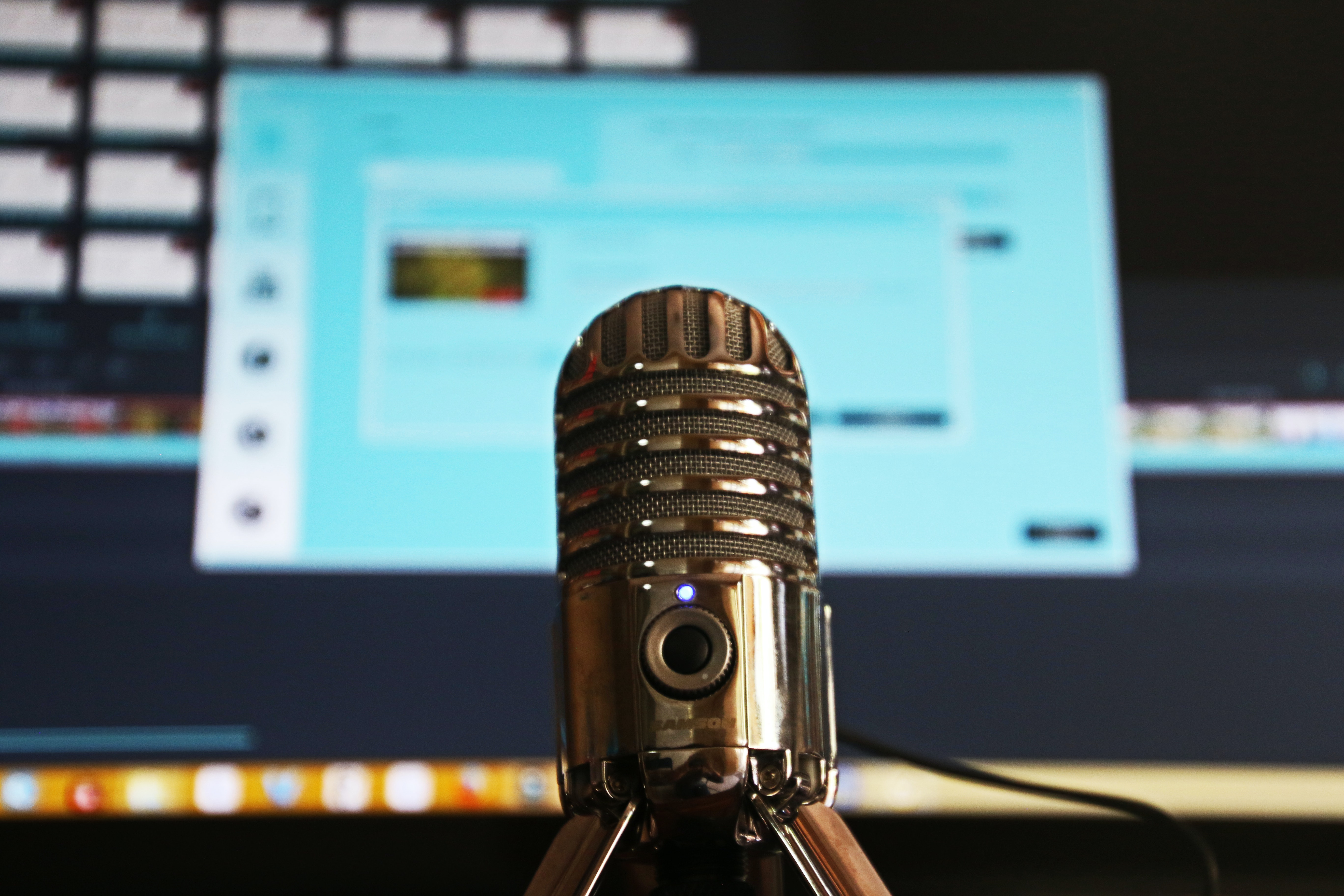 Podcast microphone