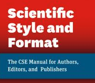 CSE Scientific Style and Format Manual Cover