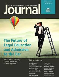 New York State Bar Association Journal cover