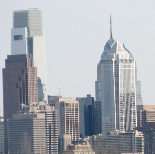 """""""Philly Skyline-Close"""" by TeaWithBuzz is licensed under CC BY-NC-SA 2.0."""