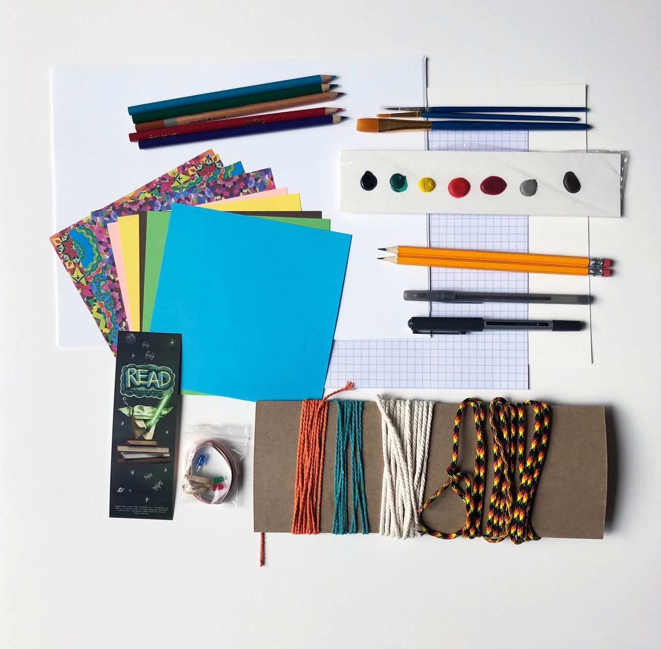 Makerspace Maker Kit Example of Contents