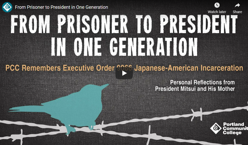 """image of video title """"from prisoner to president in one generation"""""""