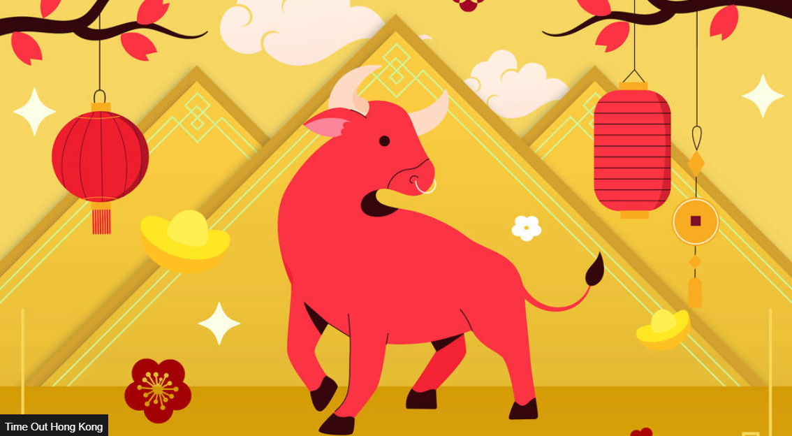 image of Ox for Chinese New Year
