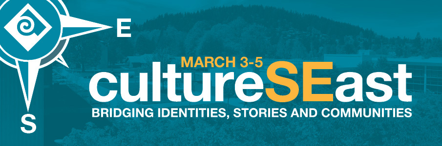 cultureSEast header March 3-5, 2020 with image of campus in background