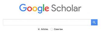 image of Google Scholar web interface