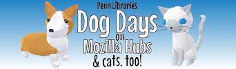 Penn Libraries Dog Days in Hubs