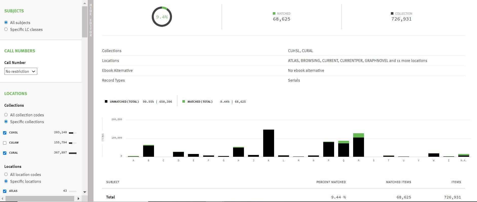 GreenGlass analysis screenshot