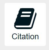 """Image of """"Citation"""" button"""