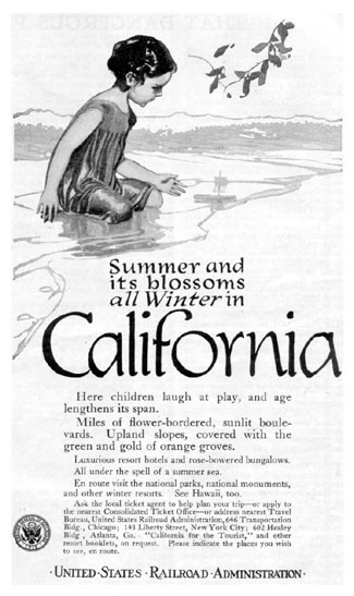 California Travel Advertisement
