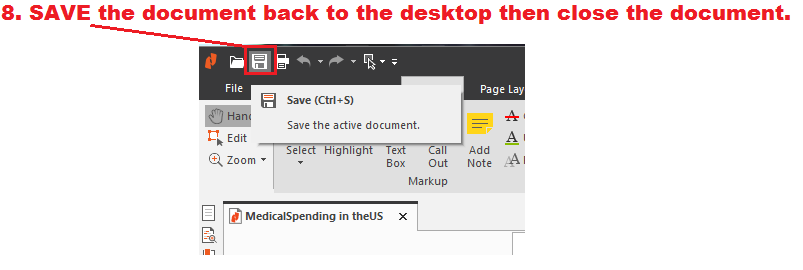 Save the file again