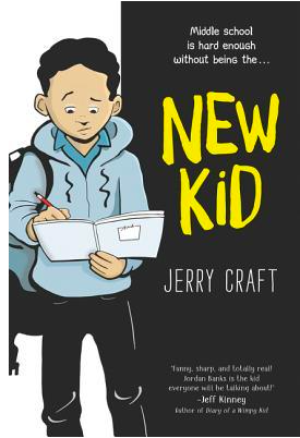 Image of the cover of New Kid by Jerry Craft