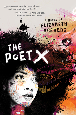 Image of the cover of The Poet X by Elizabeth Acevedo