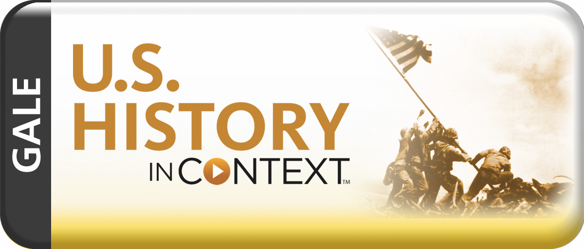 logo for US History in Context