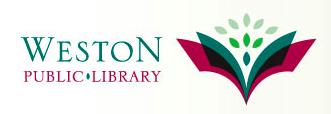 logo of the weston public library