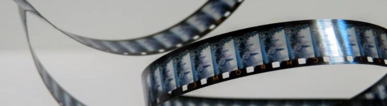 ornamental image of a reel of film