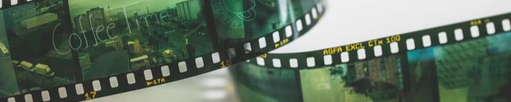 Ornamental image of film negatives