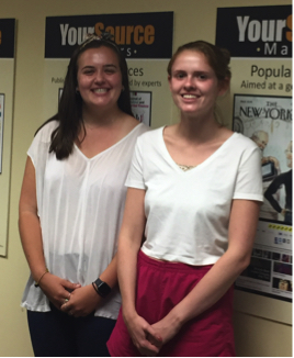 Ilana Dutton and Kate Roscher, Peer Research Advisors