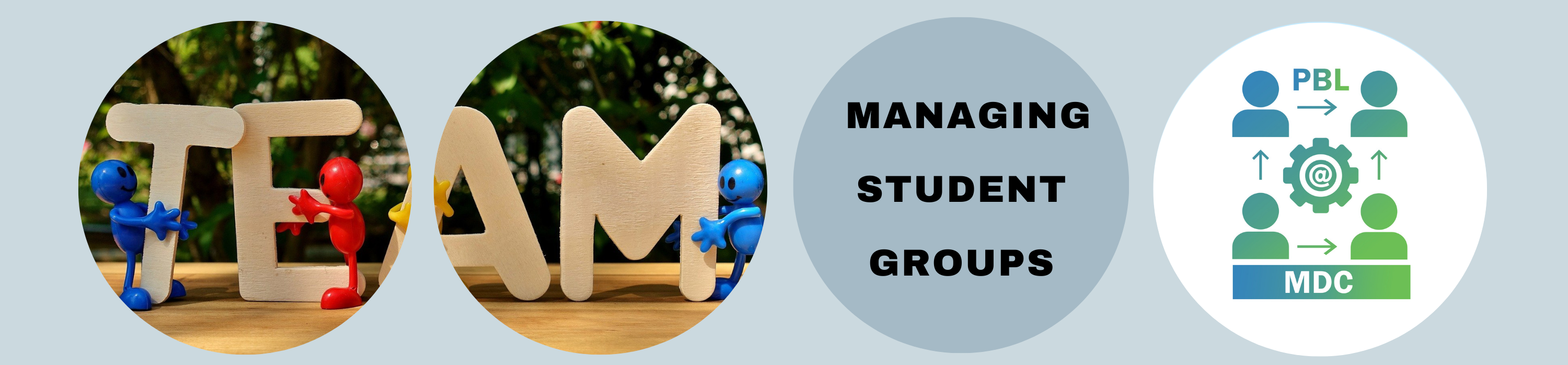 Managing Student Groups
