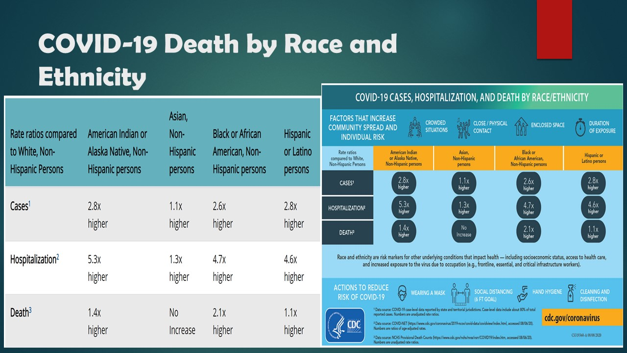 COVID-19 death by race and ethnicity