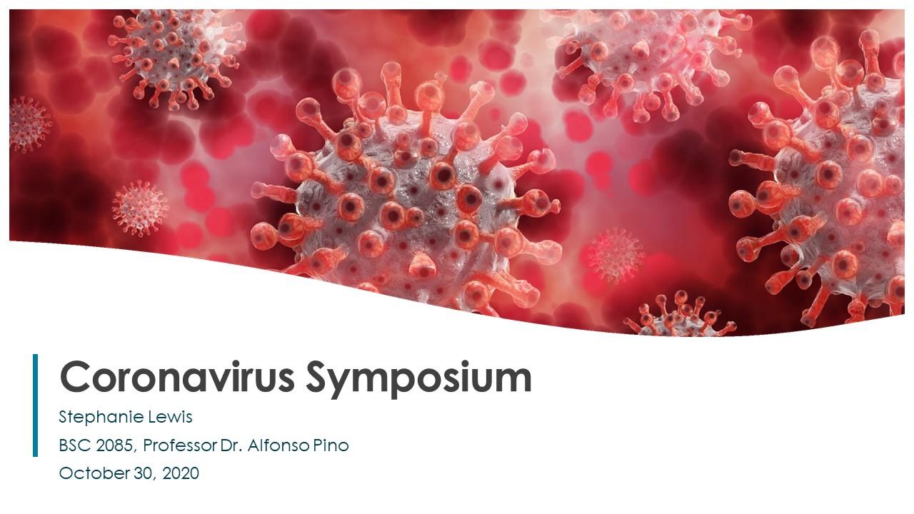 Coronavirus Symposium