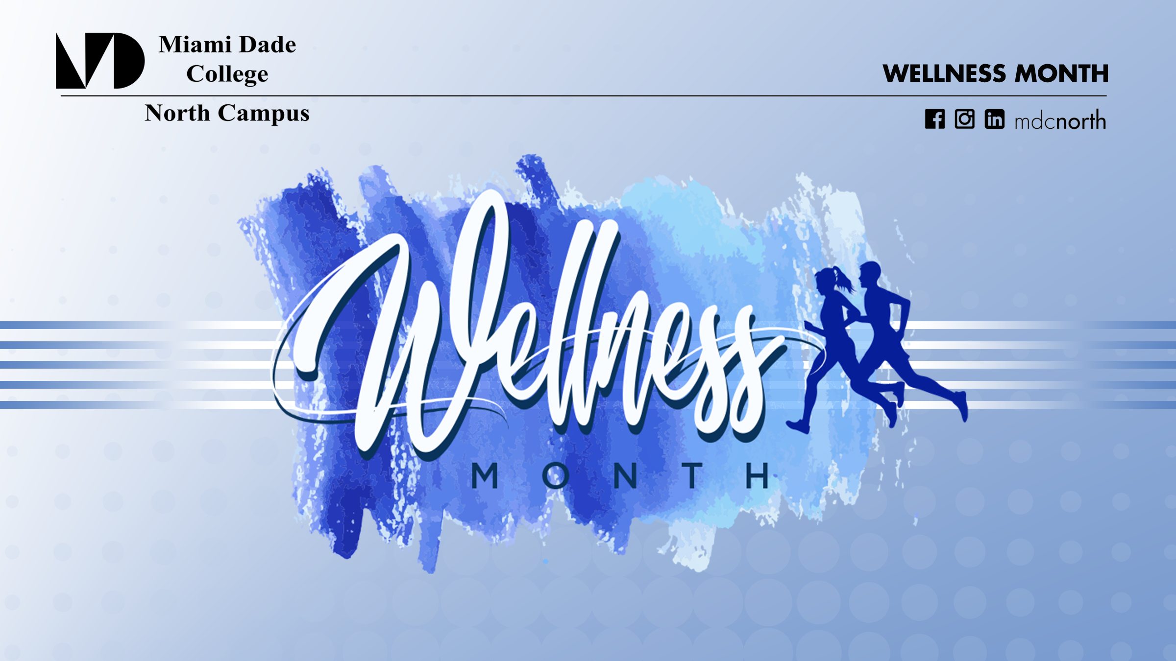 Wellness Month 2020 Poster