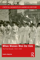 When Women Won the Vote