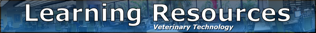 Learning Resources Veterinary Technology