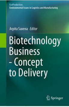 Biotechnology Business cover Springer