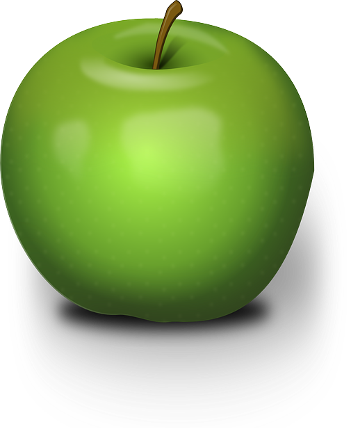 Shiny Green Apple