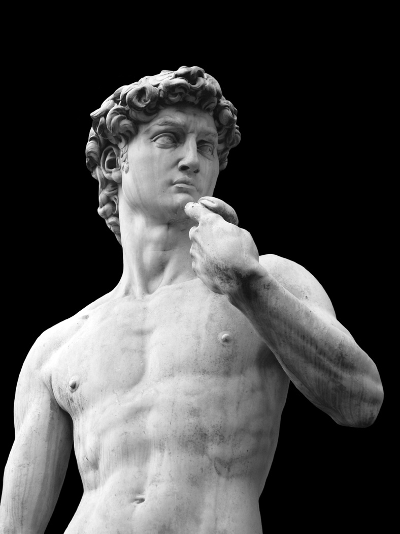 Marble Sculpture of David by Michelangelo