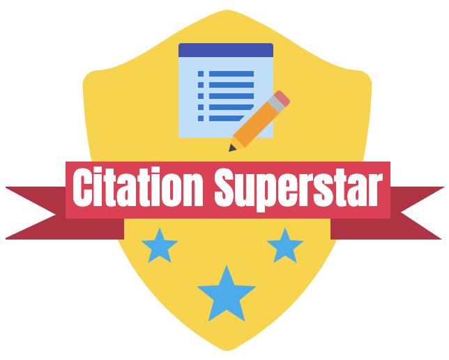 Citation Superstar Badge