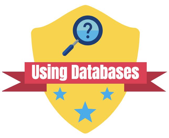 Using Databases Badge