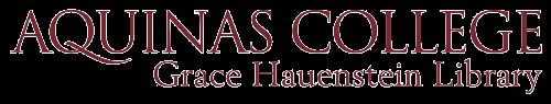 aquinas library logo