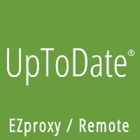 UpToDate EZproxy Access