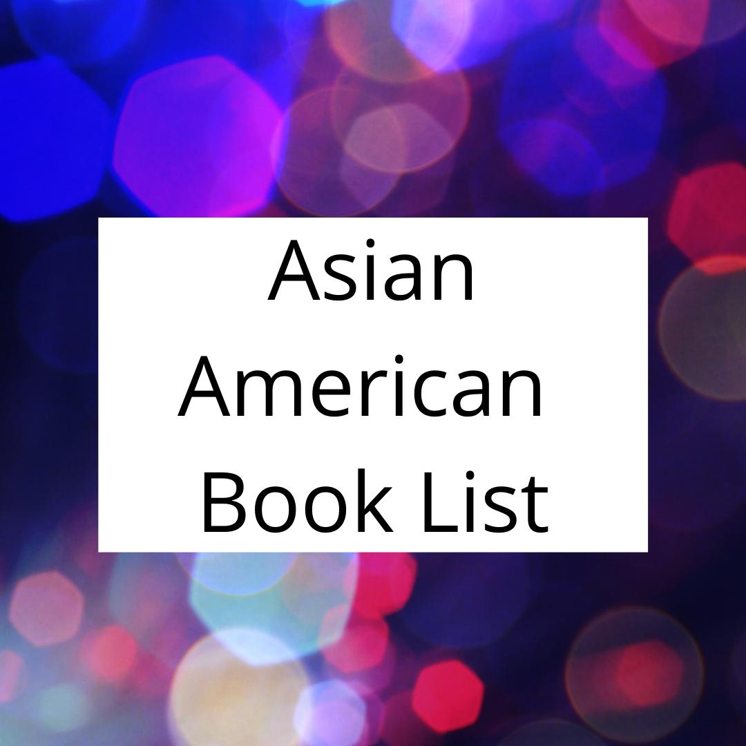 Asian American Book List