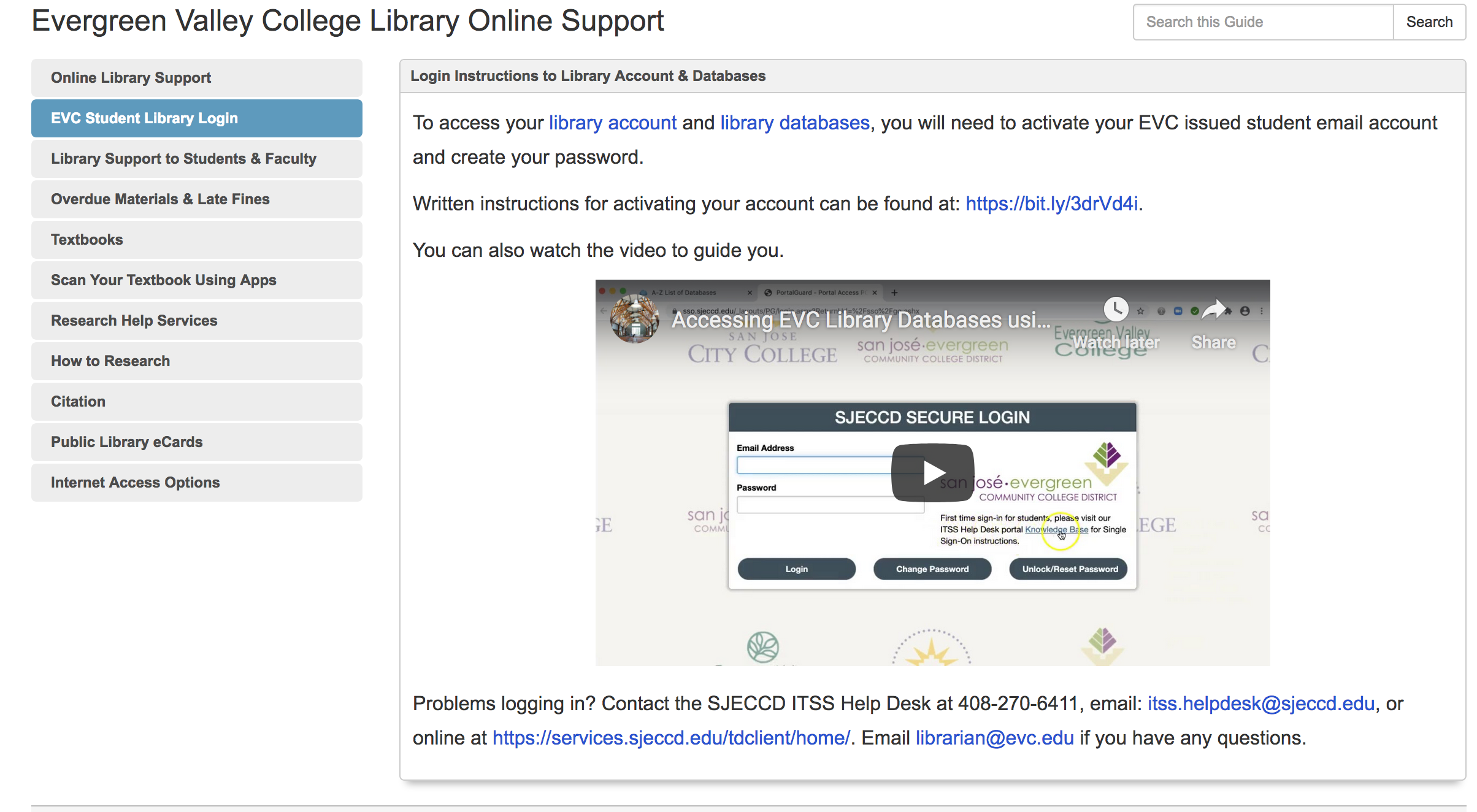 online support webpage graphic