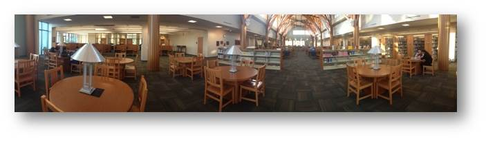 Library panorama