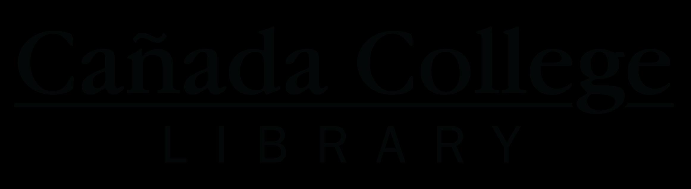 Cañada College Library logo