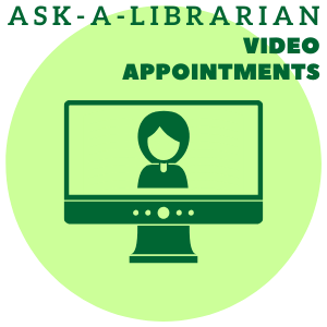 Ask-A-Librarian Video Appointment Icon